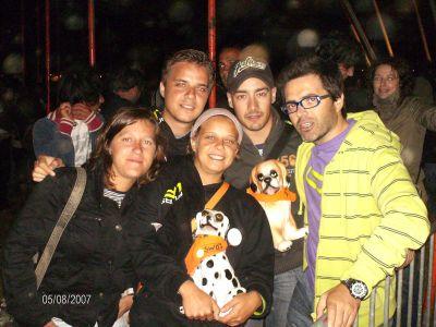 A Revolta dos Cães de Louça no Festival do Sudoeste 2007 - Clique para ver a galeria completa