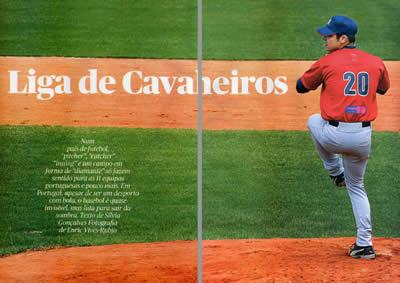 Liga de Cavalheiros - O Basebol em Portugal segundo a revista Pública
