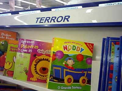 Abram alas para o Noddy: o Terror!