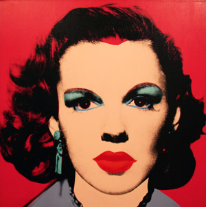 Judy Garland by Andy Warhol