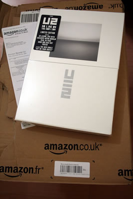 U2: No Line On The Horizon Box Set from Amazon