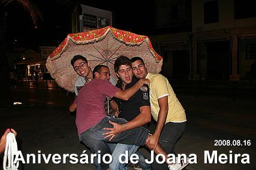 Aniversário de Joana Meira
