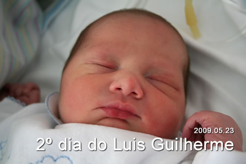 2º dia do Luis Guilherme
