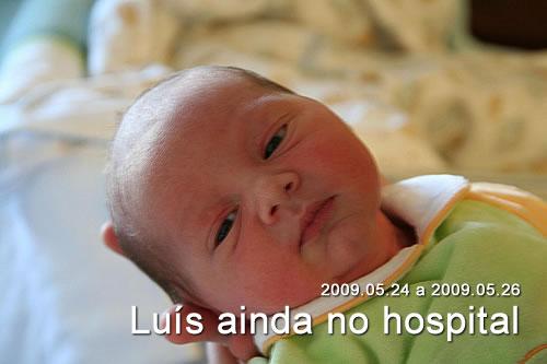 Luís Guilherme ainda no hospital