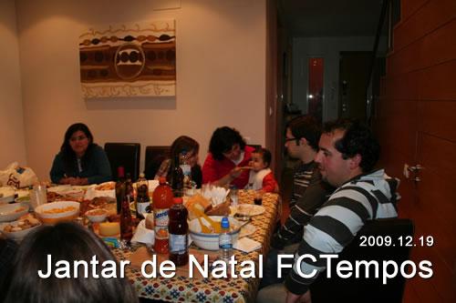 Jantar de Natal FCTempos