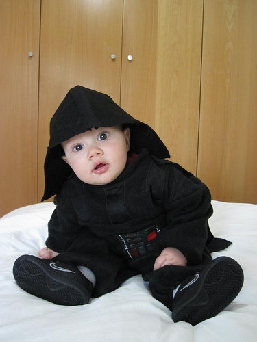 Luís as Darth Vader