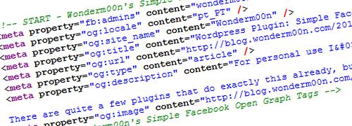 WordPress Plugin: Simple Facebook Open Graph Tags