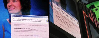 World's largest Windows error message